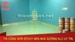 Nhận thi công sơn epoxy phòng sạch chuyên nghiệp uy tín giá rẻ tại Tây Ninh