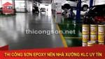 Những lợi ích thi công sơn epoxy tầng hầm gửi xe chất lượng mang lại