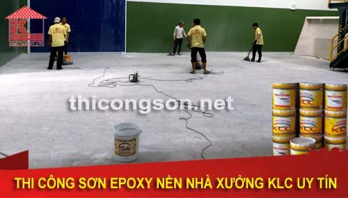 Kỹ thuật thi công sơn epoxy chống rỉ chất lượng cao cho doanh nghiệp